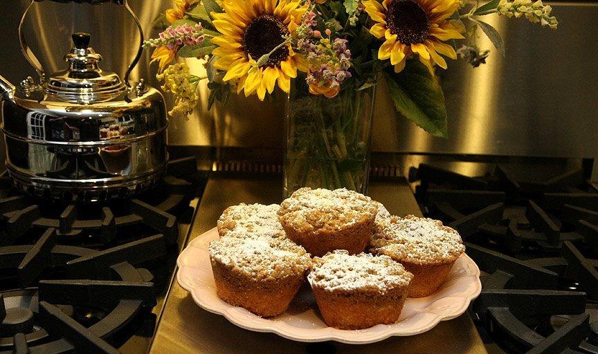 Individual Crumb Cakes
