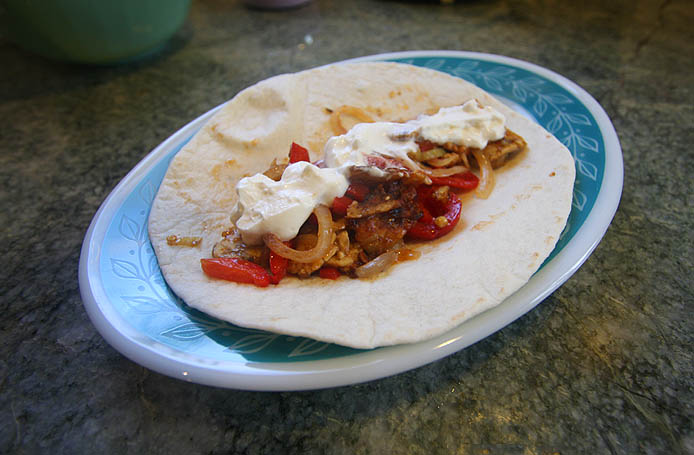 Tempeh Fajitas Recipe