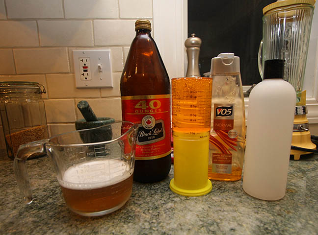 "Homemade ""Body on Tap""  Shampoo"