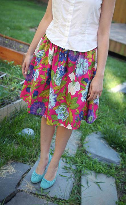 Upcycled Skirt