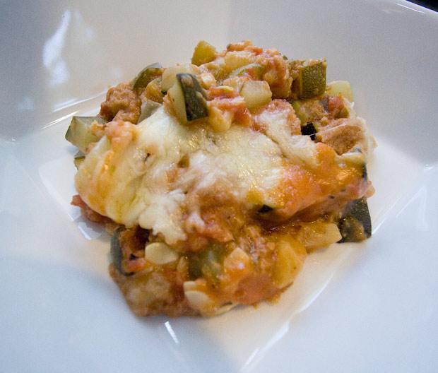 Tomato & Zucchini Casserole Recipe