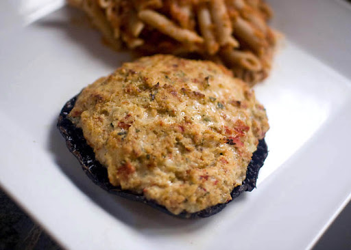 Cheese Stuffed Portobello Mushrooms Recipe