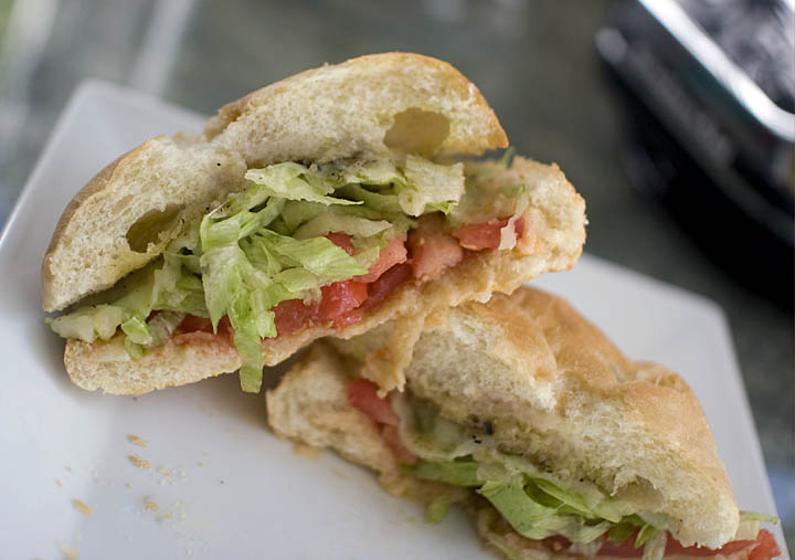 Italian Style Veggie Sandwich