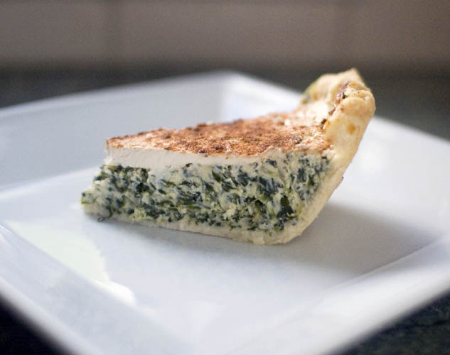 Savory Spinach & Ricotta Pie Recipe