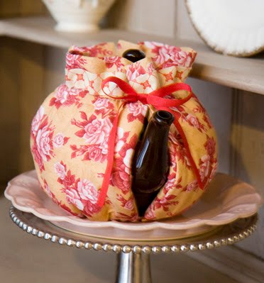 Recycled Fabric Tea Cosy
