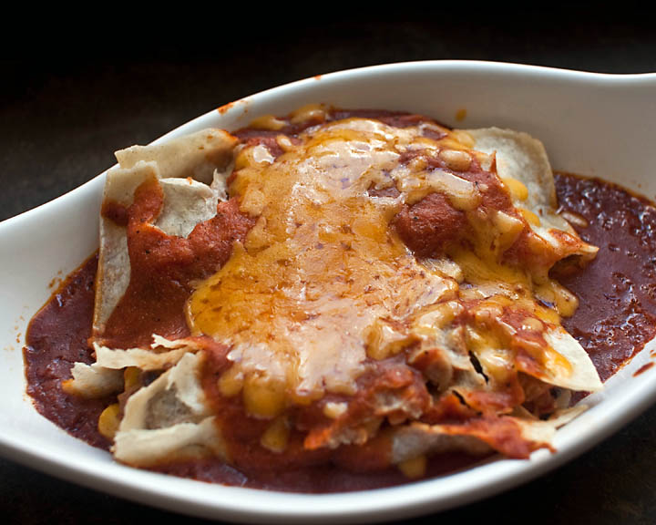 Veggie Enchiladas Recipe