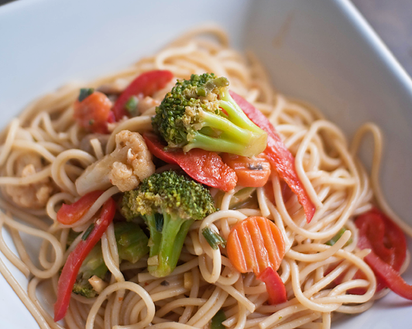 Thai Noodles & Veggies Recipe
