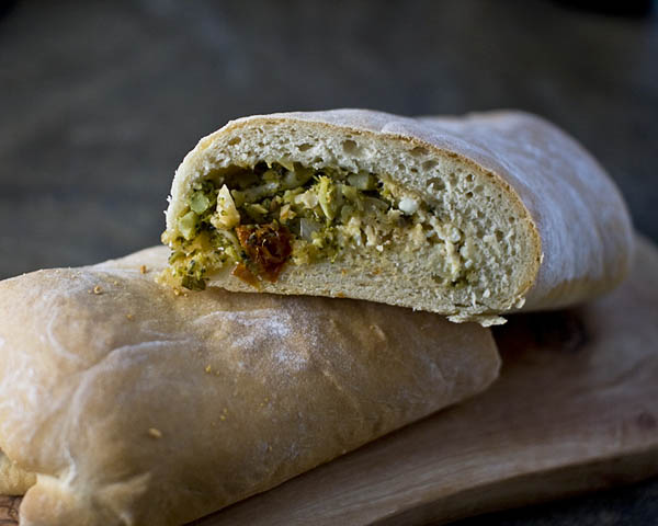 Stuffed Broccoli Bread