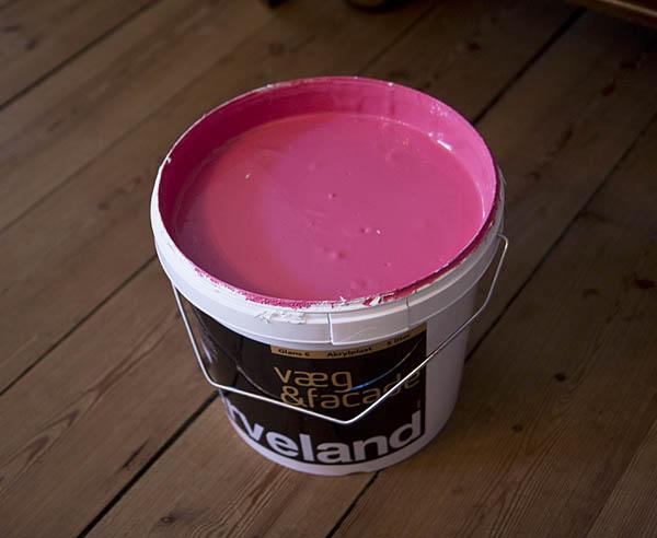 Parisian Pink Paint