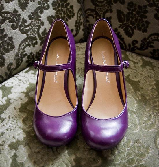 Purple Maryjanes