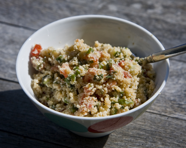 Tabbouleh Recipe with Bulgur