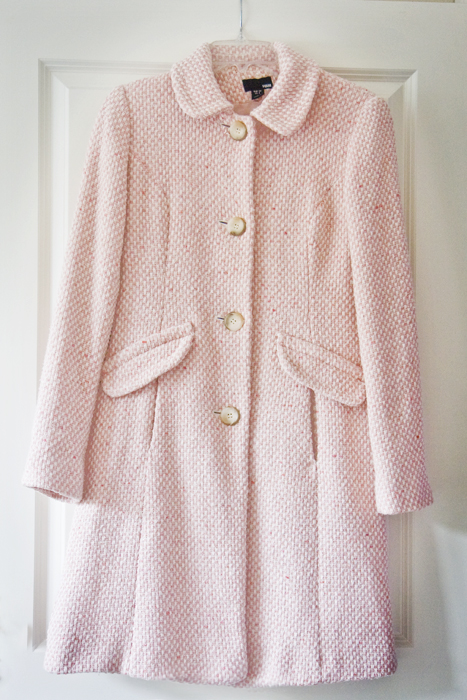 Thrifted Pink Coat