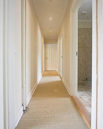 My Groovy Hallway Floor
