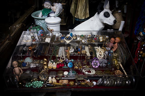Famous Flea Market in Paris - Clignancourt