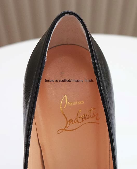 quality of christian louboutin shoes