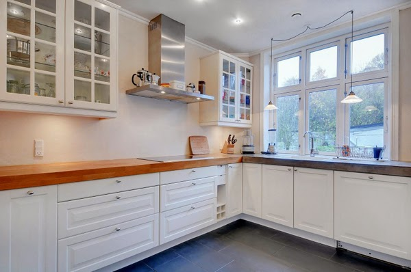 Danish White Kitchen