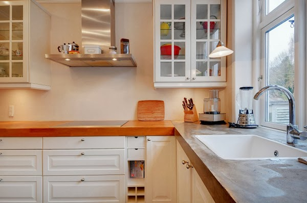 White Danish Kitchen