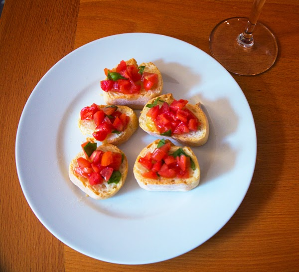 Bellagio Cooking Class: Bruschetta
