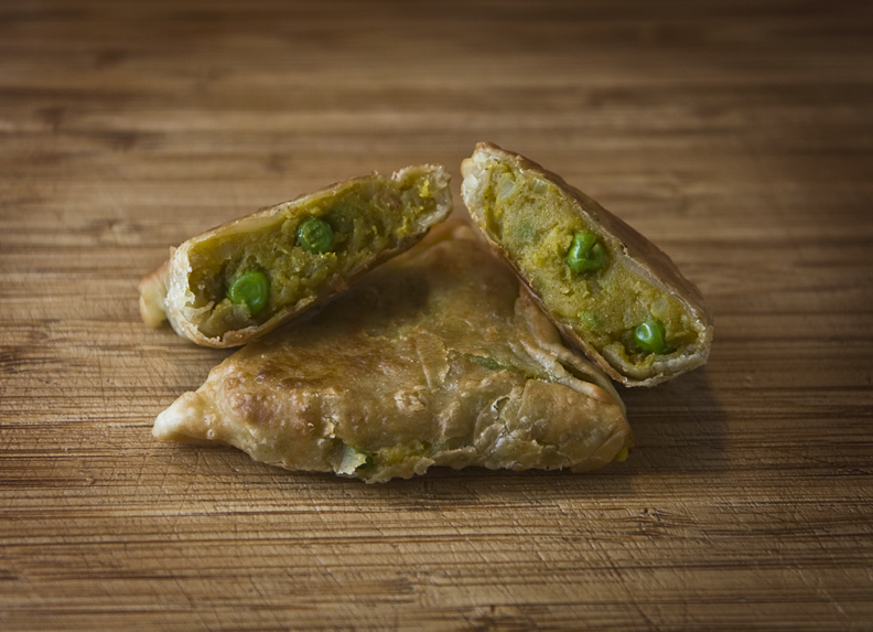 BIR Style Vegetable Samosas Recipe