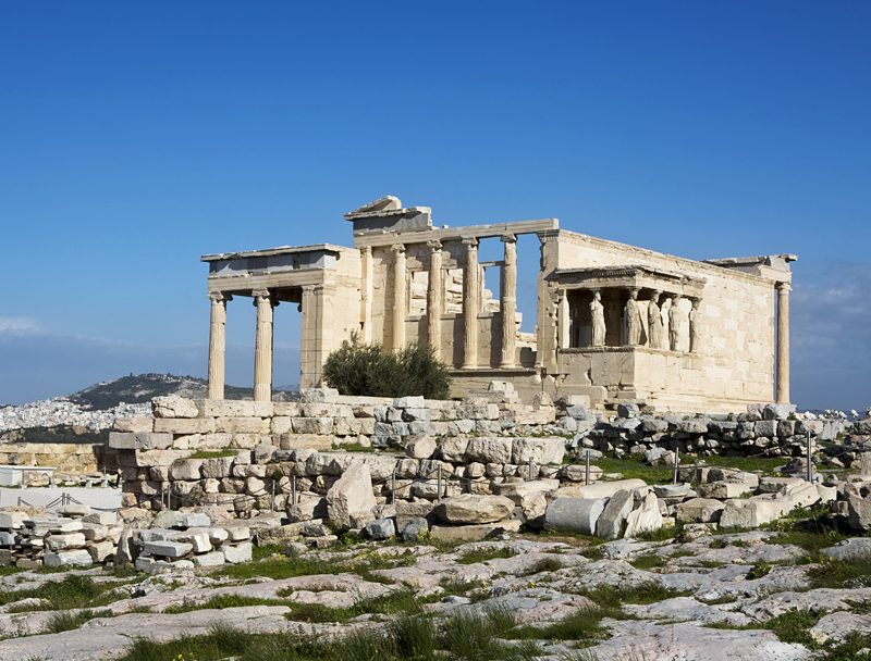 Photos of the Acropolis - Erechtheion