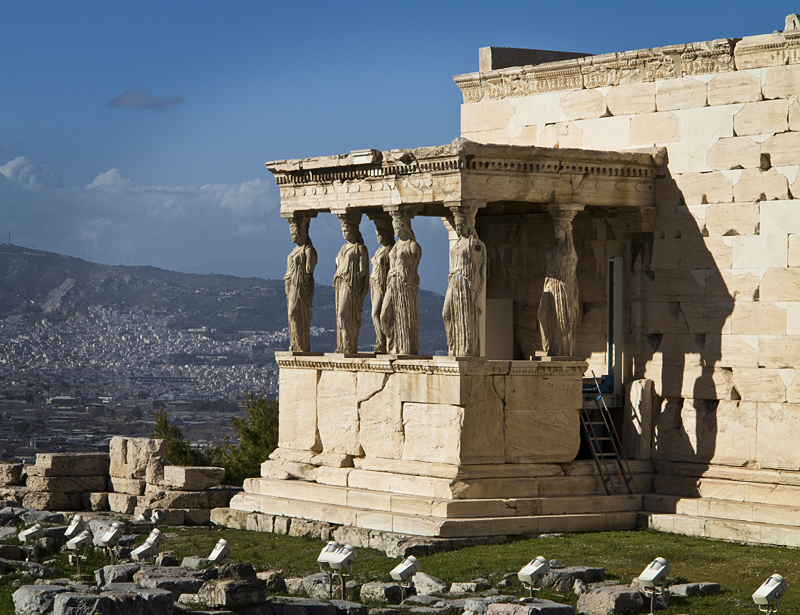 The Erechtheion - The Caryatids