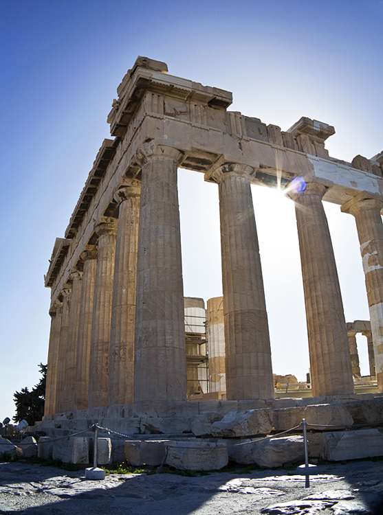 Photos of the Acropolis - The Parthenon