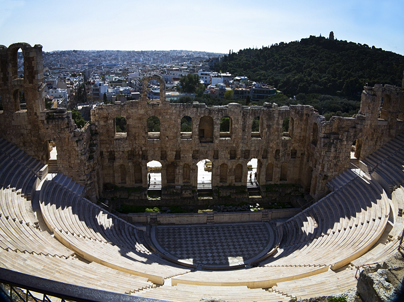 Photos of the Acropolis - Theatre of Dionysus Eleuthereus