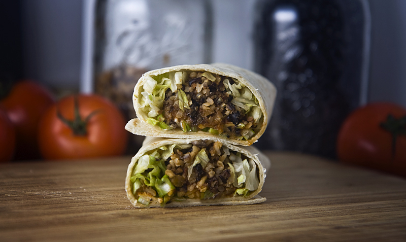 Black Bean and Rice Burrito Recipe