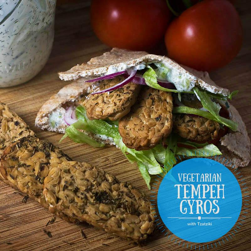 Vegetarian Gyros Recipe