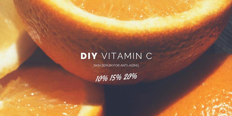 My DIY Vitamin C Serum Recipe & Skincare Routine