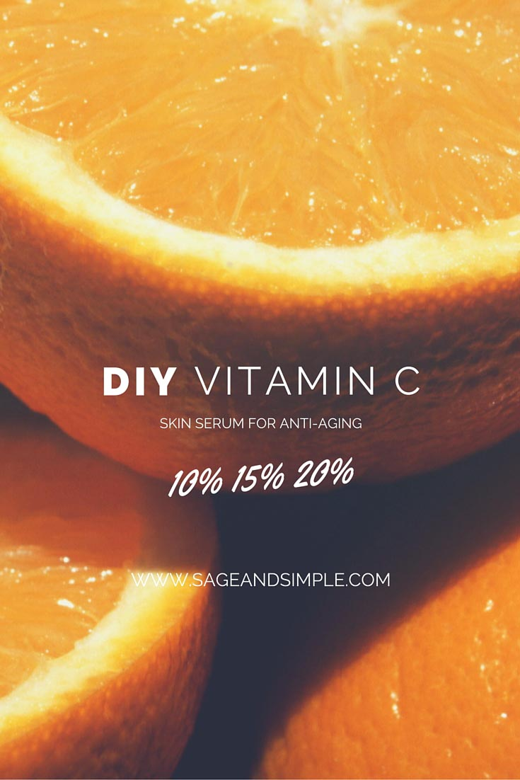 DIY Vitamin C Serum for Anti-Aging