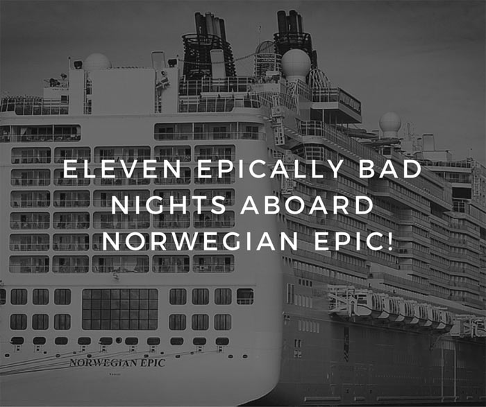 Negative Norwegian Epic Review