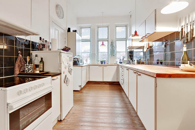 Aarhus City Apartment - Kitchen