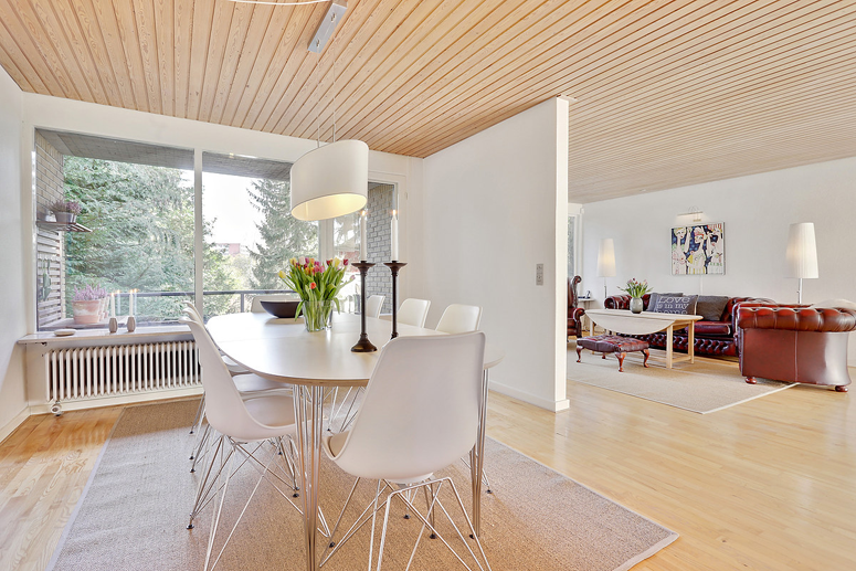 Houses in Aarhus Denmark - 1960s Dining Room