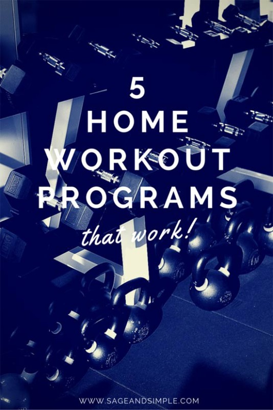 5 Home Workout Programs That Work