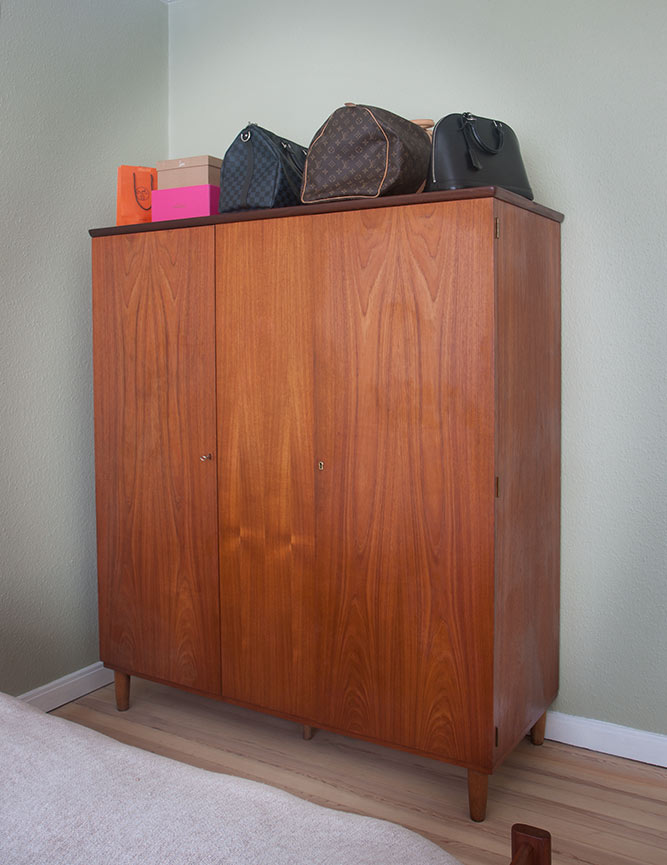 Danish Mid Century Modern Wardrobe