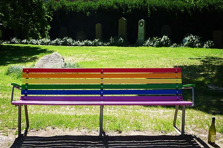 Pride Bench, Aarhus Denmark