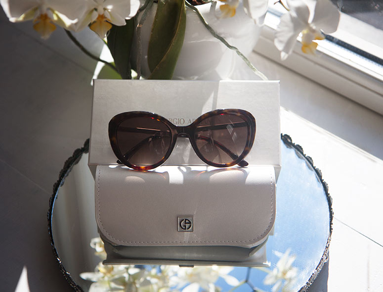 Giorgio Armani Cat Eye Sunglasses