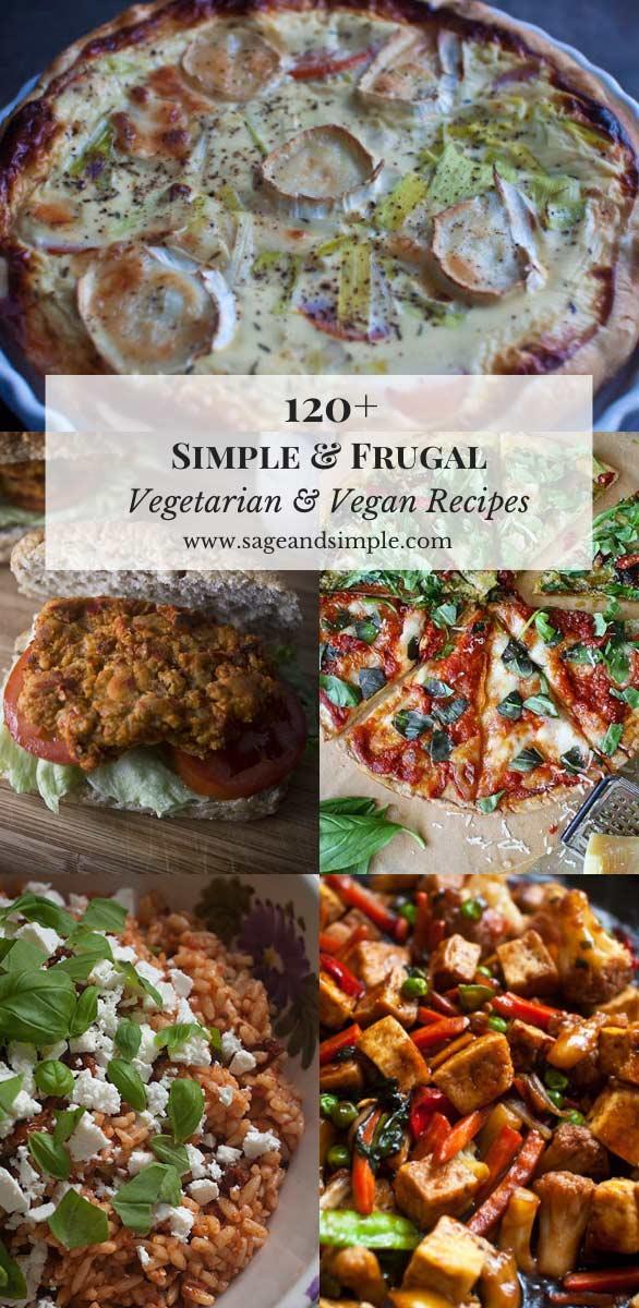 Simple & Frugal Vegetarian Recipes