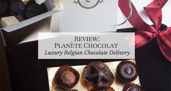 Planète ChocolatReview: Belgian Chocolate Delivery Service