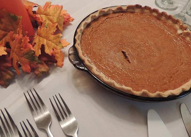 American Desserts - Pumpkin Pie
