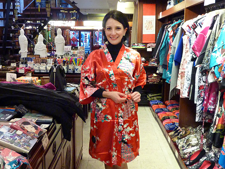 Buying Satin Kimonos Amsterdam